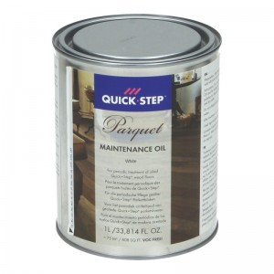 Quick.step Maintenance Oil voor parket wit 1 liter