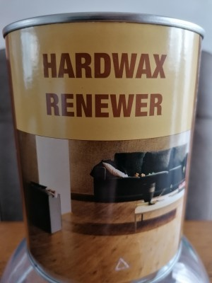 Esco hardwaxolie naturel renewer wit 1 liter